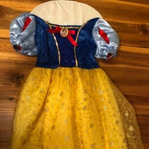 Other - Girls Snow White Costume Size 4-6x